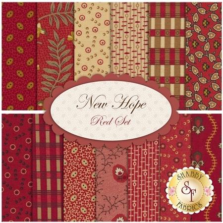 New Hope  13 FQ Set - Red Set by Moda Fabrics