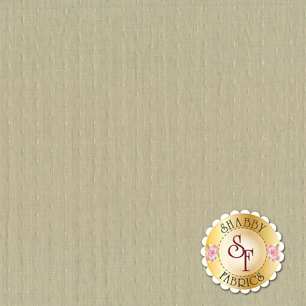 Woven dot pattern on dusty mint green   Shabby Fabrics