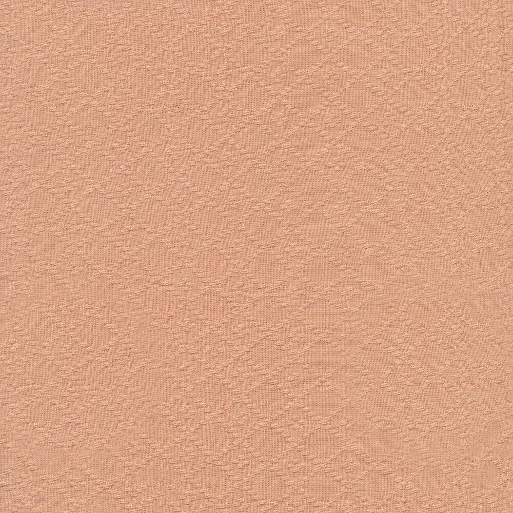 Woven lattice design on pink | Shabby Fabrics