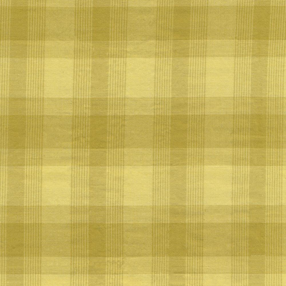 Chartreuse green  plaid design | Shabby Fabrics