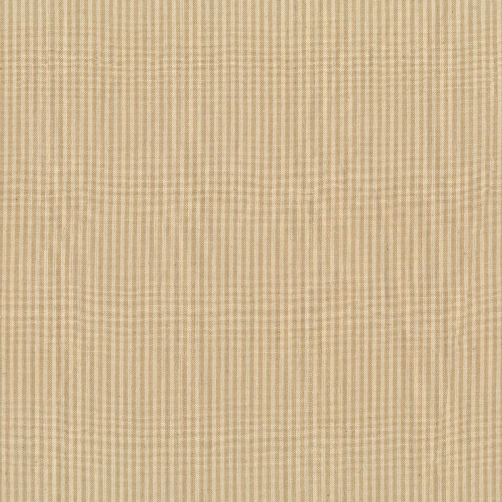 Tonal tan striped woven fabric   Shabby Fabrics