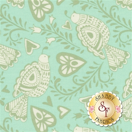 North Woods 27241-13 Icicle by Kate Spain for Moda Fabrics REM