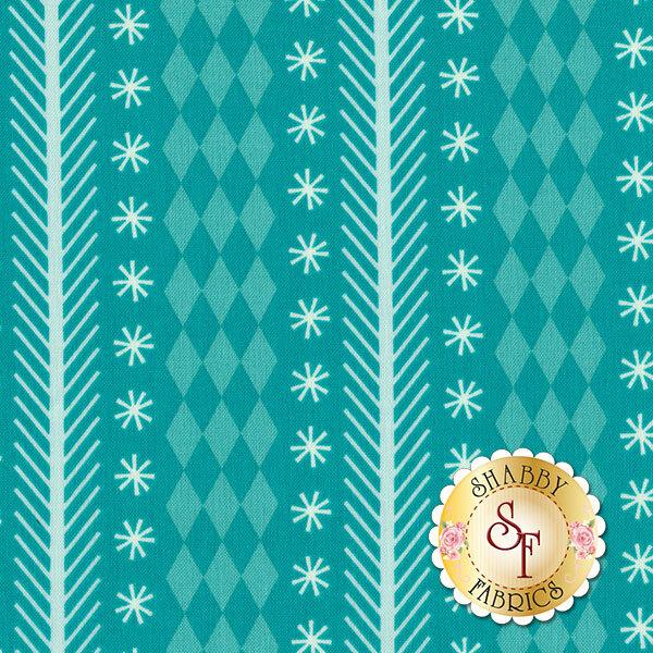 Nutcracker Christmas C5333-Aqua By Riley Blake Designs