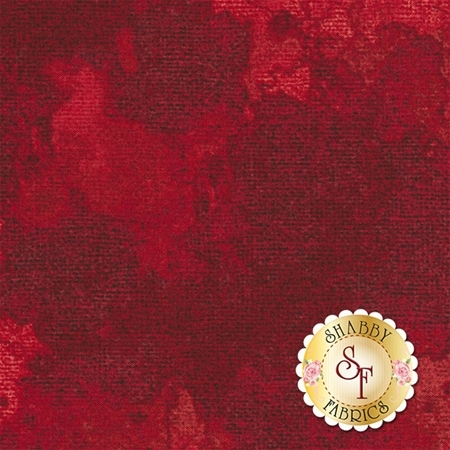 Oh My Stars 965-10 Weathered Burlap Red by Dover Hill Studio for Benartex Fabrics