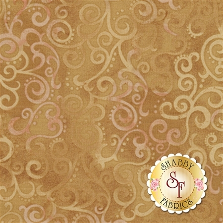 Ombre Scroll 24174-AS Camel by Studio 8 for Quilting Treasures