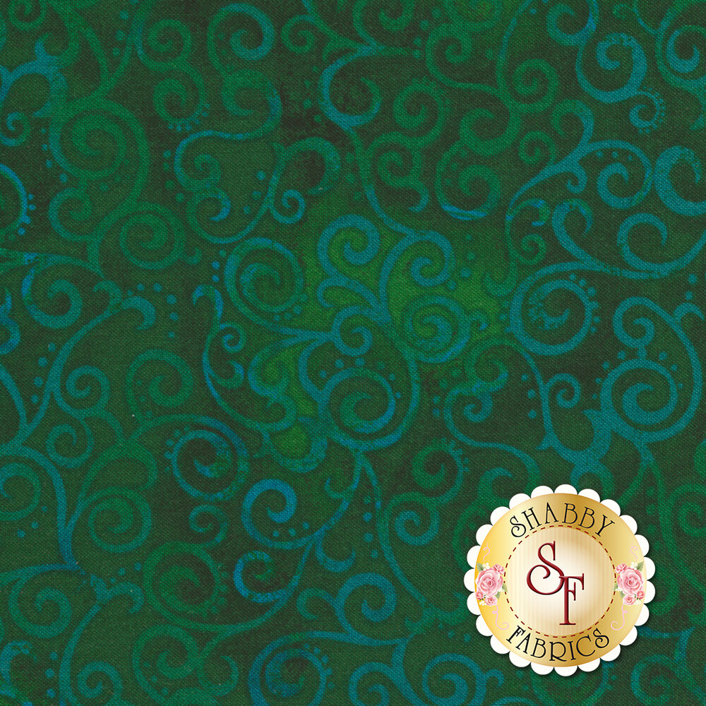 Ombre Scroll 24174-F by Quilting Treasures