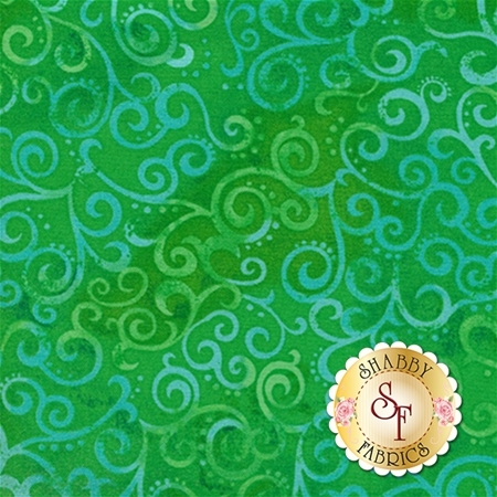 Ombre Scroll 24174-G Spring by Studio 8 for Quilting Treasures