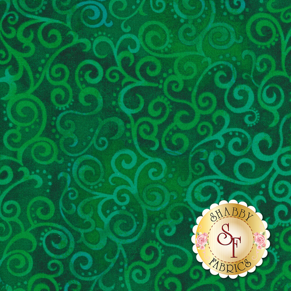 Ombre Scroll 24174-GF by Quilting Treasures