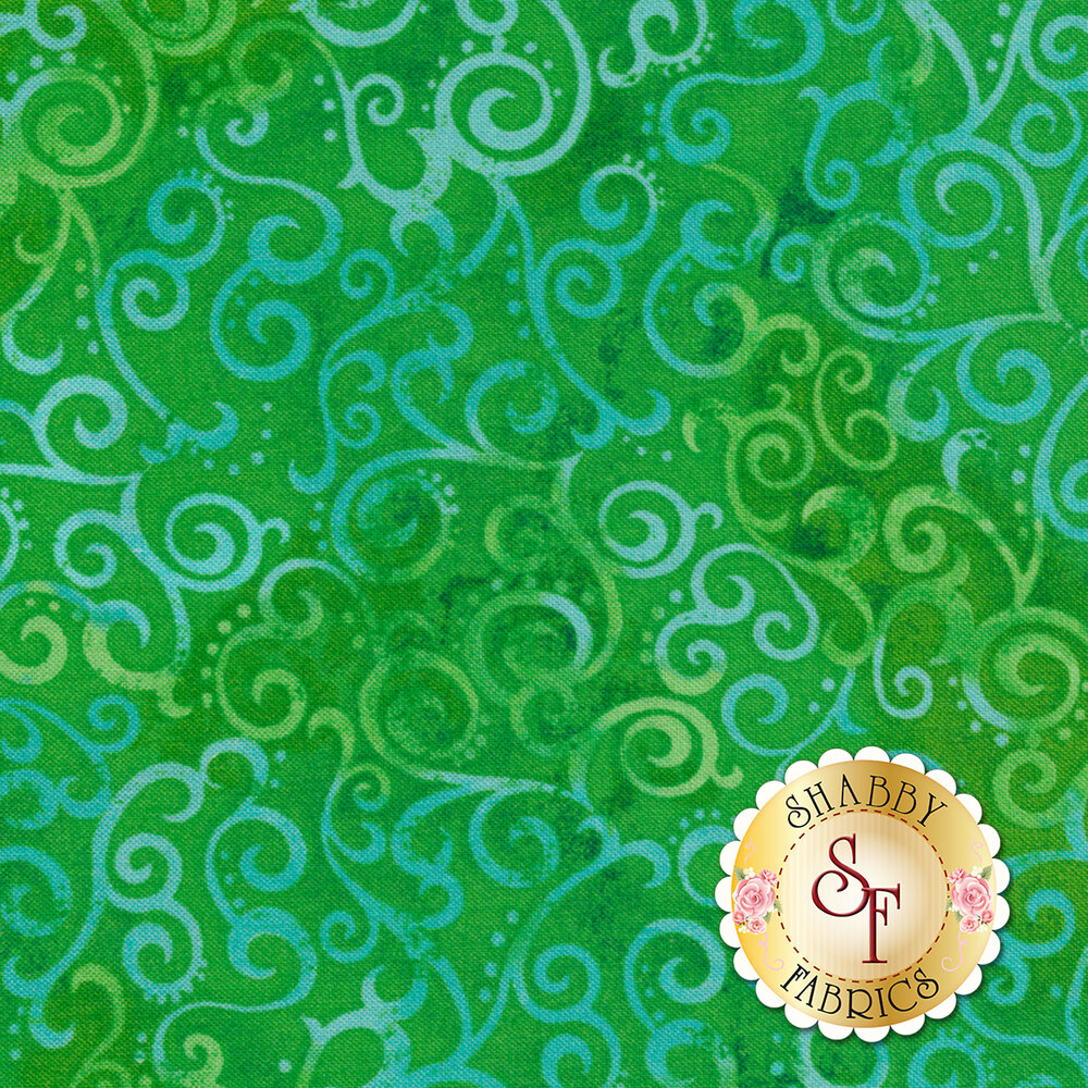 Ombre Scroll 24174-G by Quilting Treasures