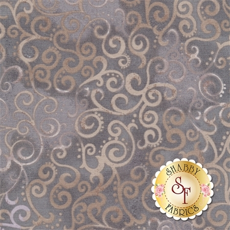 Ombre Scroll 24174-K Stone by Studio 8 for Quilting Treasures