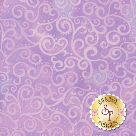 Ombre Scroll 24174-L Lilac by Studio 8 for Quilting Treasures