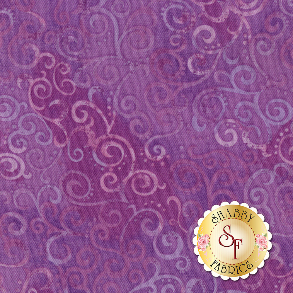Ombre Scroll 24174-LV by Quilting Treasures