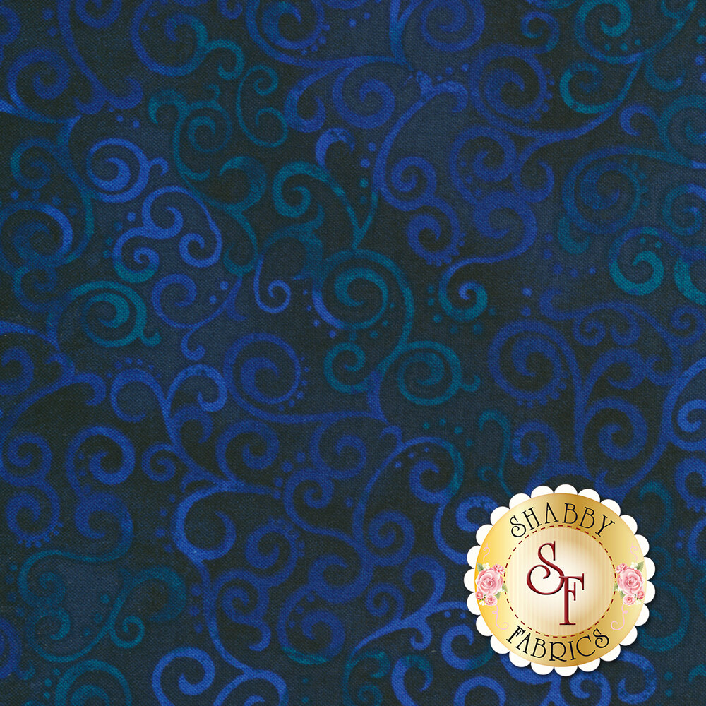 Ombre Scroll 24174-N by Quilting Treasures
