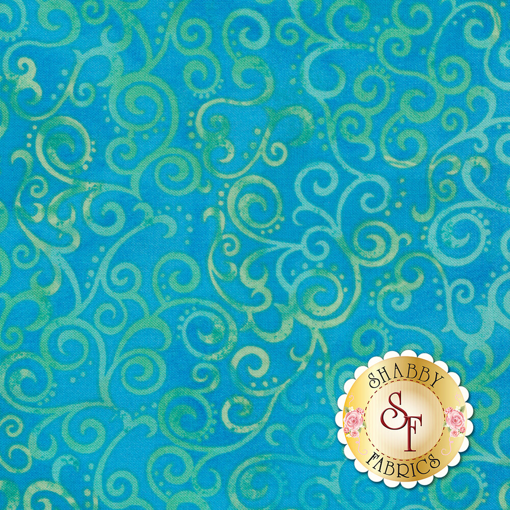 Ombre Scroll 24174-Q by Quilting Treasures