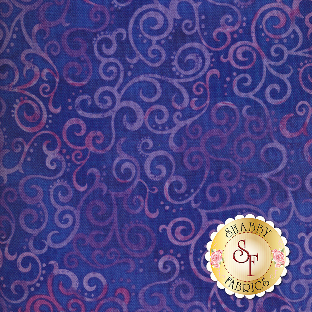 Ombre Scroll 24174-W by Quilting Treasures
