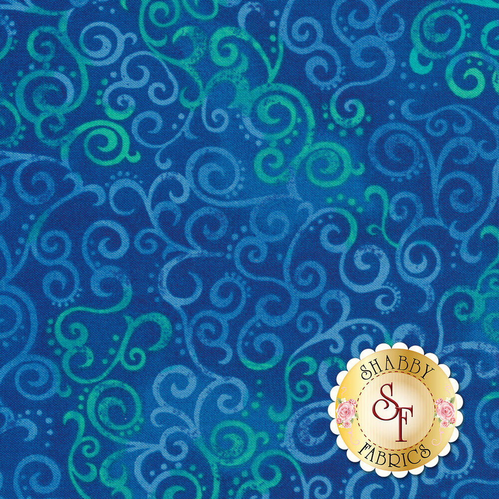 Ombre Scroll 24174-Y by Quilting Treasures