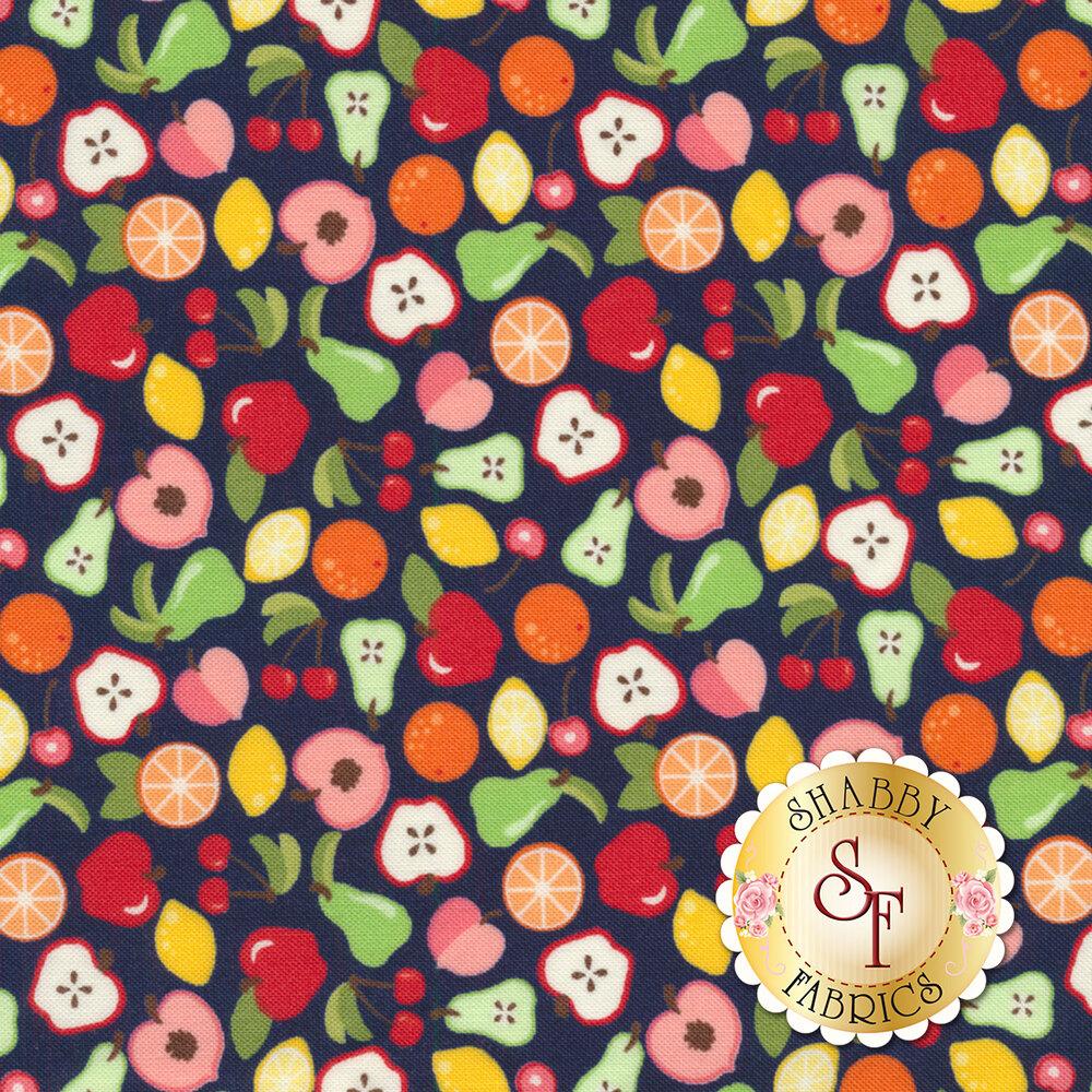 Orchard 24071-15 Bounty Blueberry by Moda available at Shabby Fabrics