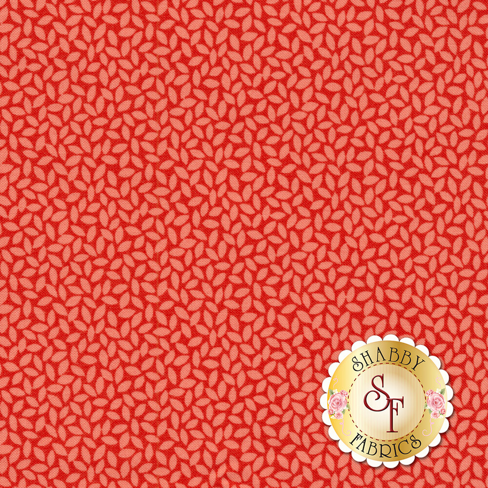Orchard 24076-12 Leaves Cherry by Moda available at Shabby Fabrics