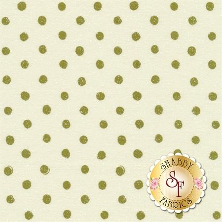 Overnight Delivery 5704-22 Snowballs Vanilla Green for Moda Fabrics