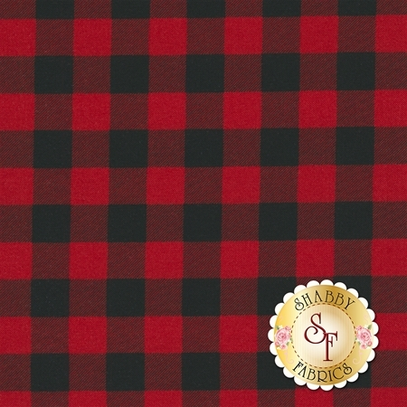 Overnight Delivery 5707-11 Buffalo Plaid Red for Moda Fabrics