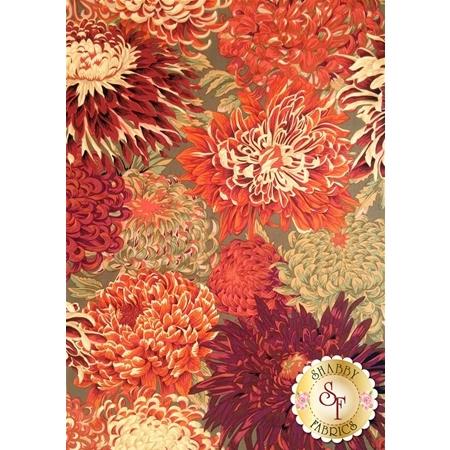 Kaffe Fassett Favorites PJ41.BROWN Japanese Chrysanthemum Brown by Westminster Fibers
