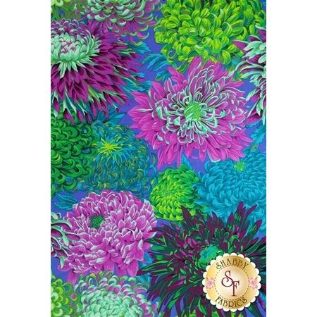 Kaffe Fassett Favorites PJ41.GREEN Japanese Chrysanthemum Green by Philip Jacobs for Westminster Fibers