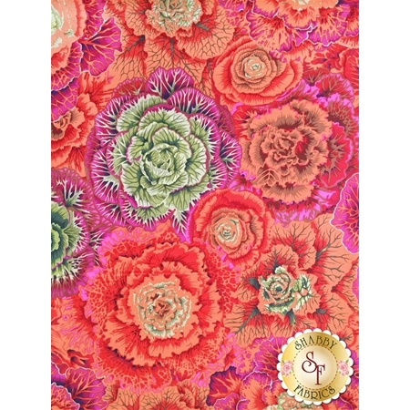 Kaffe Fassett Favorites PWPJ051.RUSTX Fall 2015 Brassica Red by Philip Jacobs for Westminster Fibers