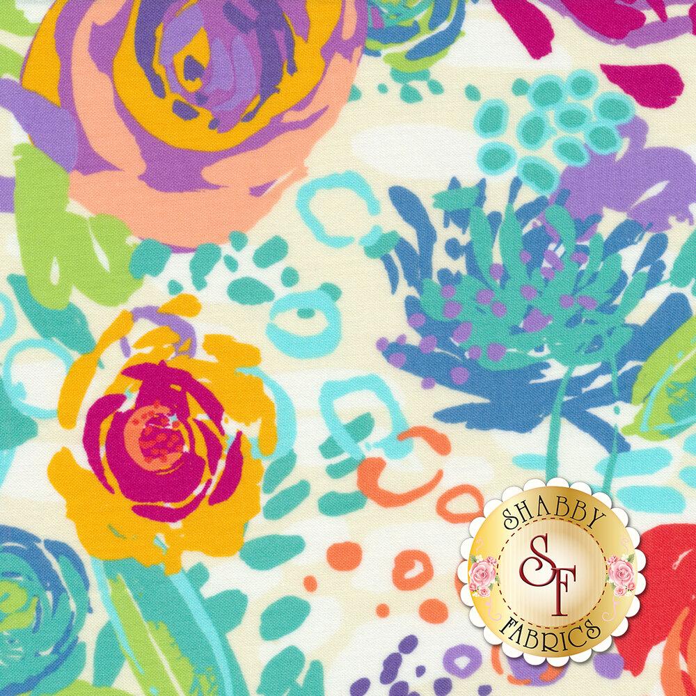 Painted Garden 11810-11 by Moda Fabrics- REM
