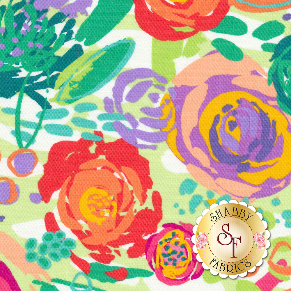 Painted Garden 11810-14 by Moda Fabrics- REM