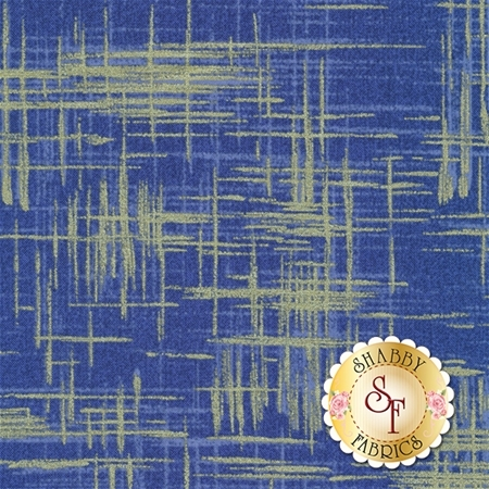 Painter's Canvas MD4816-BLUE-D for Michael Miller Fabrics