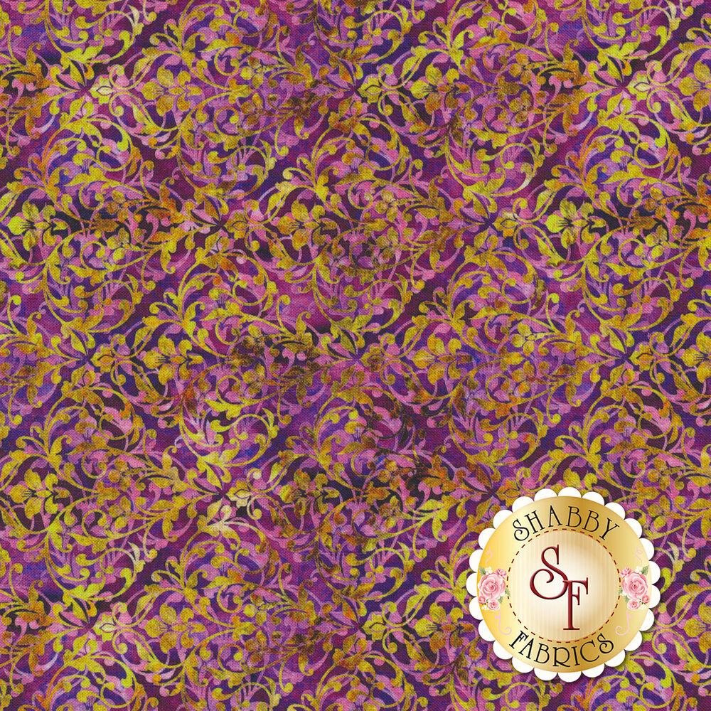 Pandora 27184-V Violet by QT Fabrics