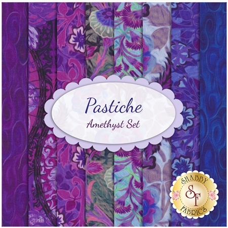 Pastiche  8 FQ Set - Amethyst Set by In The Beginning Fabrics