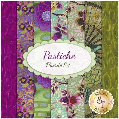 Pastiche  7 FQ Set - Fluorite Set by In The Beginning Fabrics