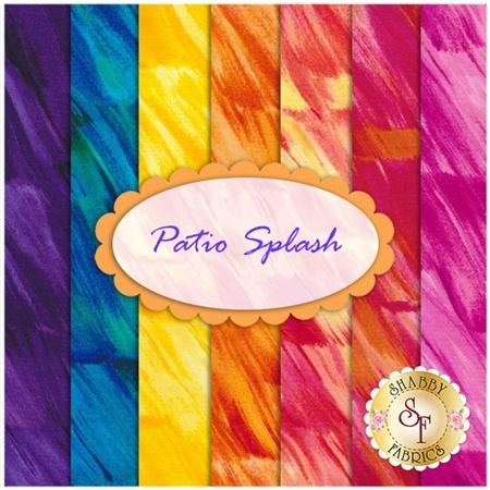 Patio Splash  7 FQ Set by Kanvas Studio for Benartex