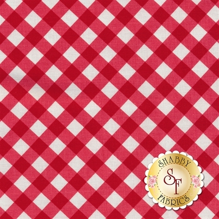 Patriotic Picnic C8005-RED by Riley Blake Designs- REM