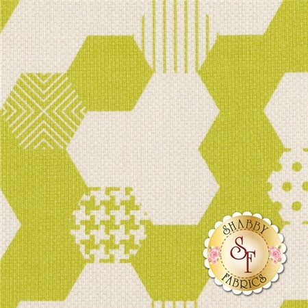 Textured Basics 5804-LIME By Patty Young for Michael Miller Fabrics