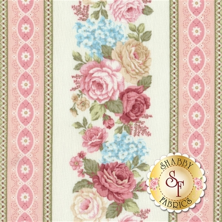Peaceful Garden 8697-44 by Mary Jane Carey for Henry Glass Fabrics