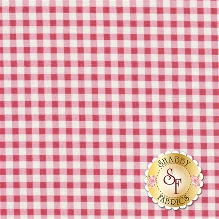 Petal PWTW057-RREDX Check by Tanya Whelan for Free Spirit Fabrics