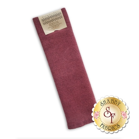 Hand Dyed Wool PRI 5069 Petunia Herringbone by Primitive Gatherings for Moda Fabrics
