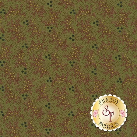 Pieceful Pines 8209-0114 by Pam Buda for Marcus Fabrics