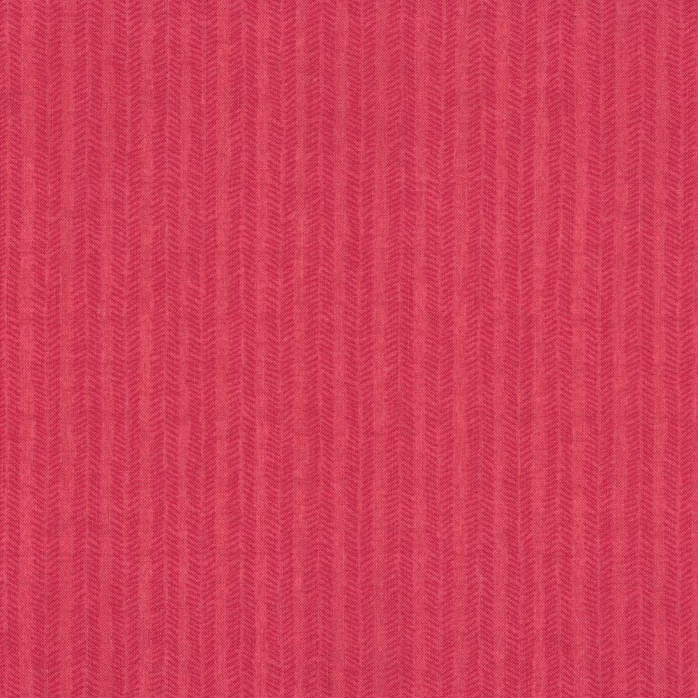 Pink tonal chevron print | Shabby Fabrics