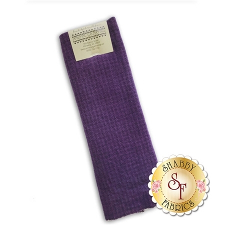 Hand Dyed Wool PRI 5054 Plum Houndstooth by Primitive Gatherings for Moda Fabrics