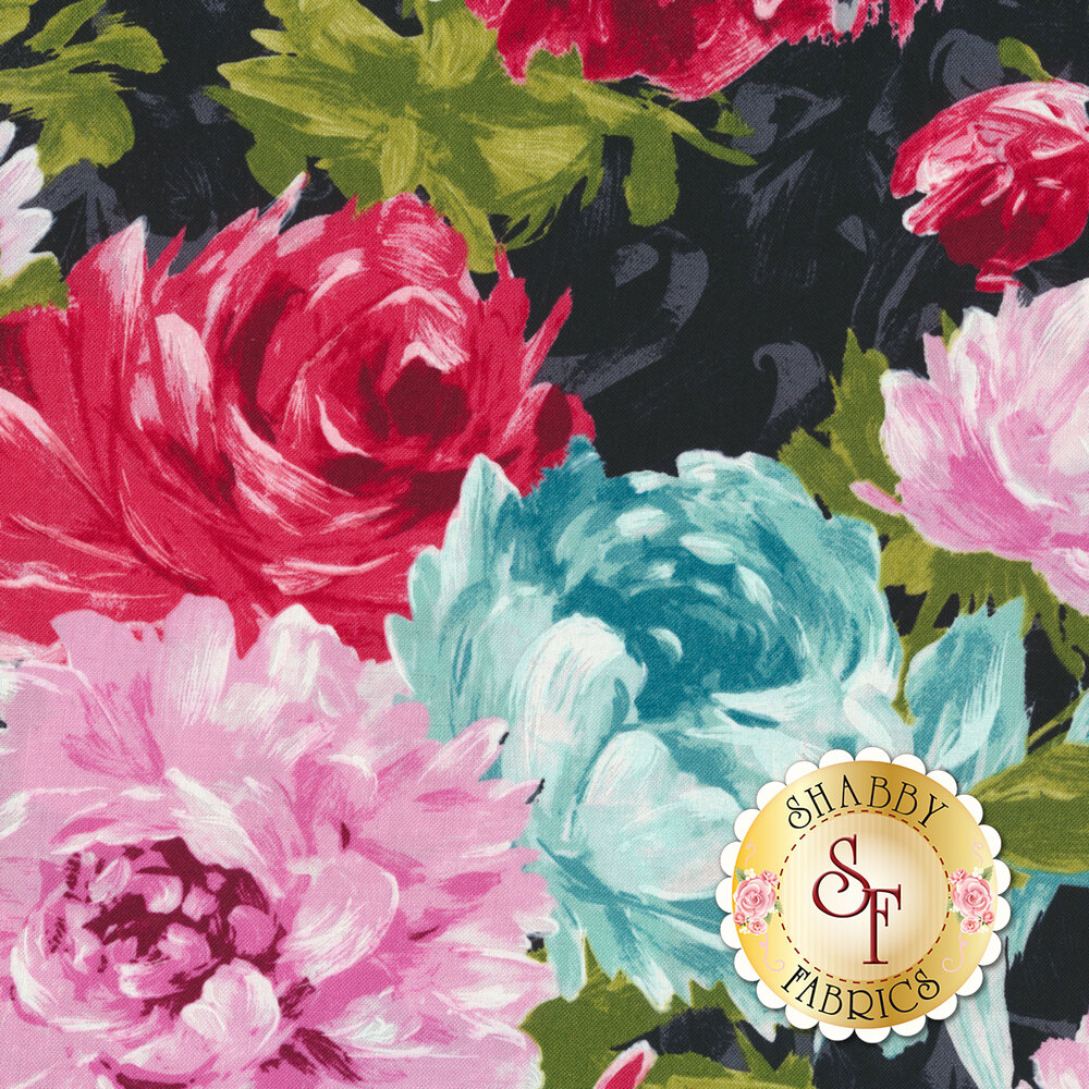 Poetry In Motion DC7919-BLAC-D by Michael Miller Fabrics