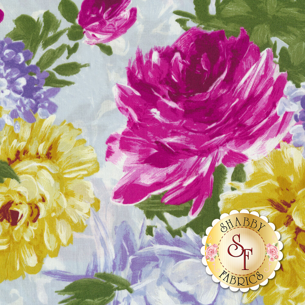 Poetry In Motion DC7919-MAGE-D by Michael Miller Fabrics