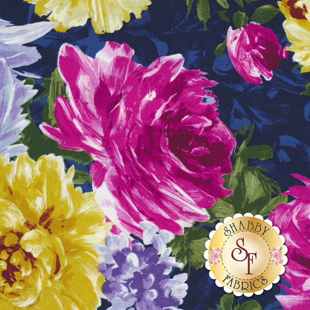 Poetry In Motion DC7919-MIDN-D by Michael Miller Fabrics