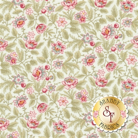 Poetry 44134-11 Porcelain by 3 Sisters for Moda Fabrics