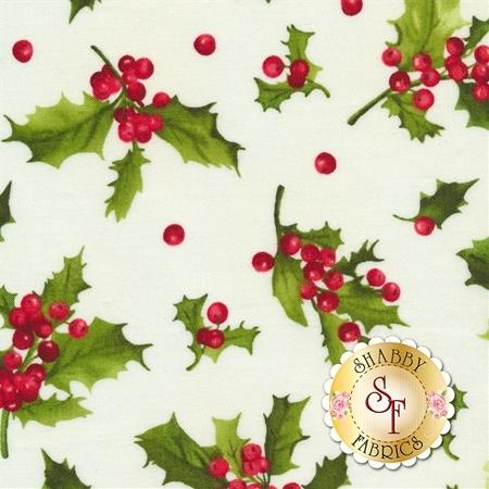 Poinsettia & Pine 9123-E by Maywood Studio Fabrics