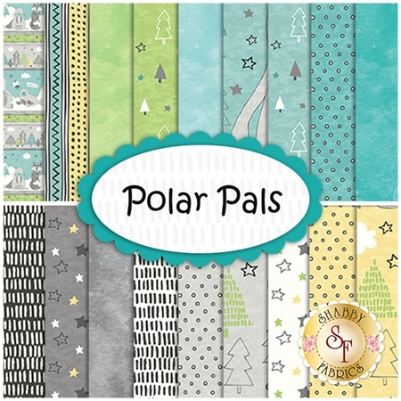 Polar Pals  Yardage by Northcott Fabrics