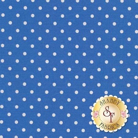 Polka Dot Basics C1820-Blue by Timeless Treasures Fabrics