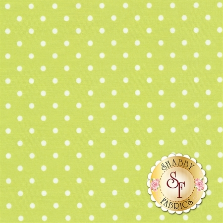 Polka Dot Basics C1820-Citrus by Timeless Treasures Fabrics